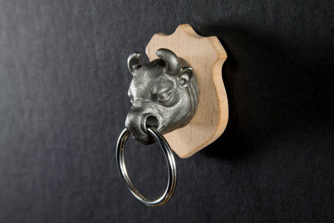 Animal Key Holder - Bull