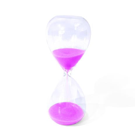 Pink 3 Minute Timer
