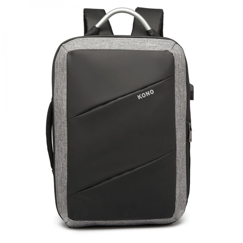 Business Backpack with USB Charging Port