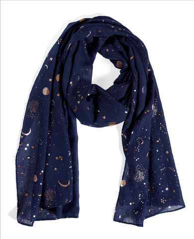 Quintessential - Comic Metallic Scarf