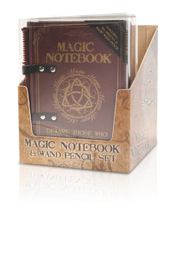 Magic Notebook with Wand Pencil