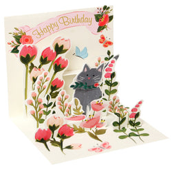 Popshots Mini Cards - Botanical Cat