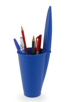 Bic Pen Lid - Pen Holder Blue