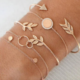 Boho Stacking Bead and Bangle Bracelets