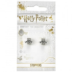Harry Potter Deathly Hallows Charm Stopper - Set of 2