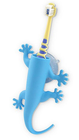 Larry The Lizard Blue - Toothbrush Holder