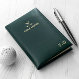 Personalised Luxury Leather Golf Notes