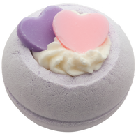 Two Hearts Bath Bomb