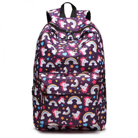 Unicorn Backpack School Bag