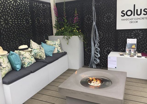 Garden screens by Screen With Envy at the Chelsea Flower Show