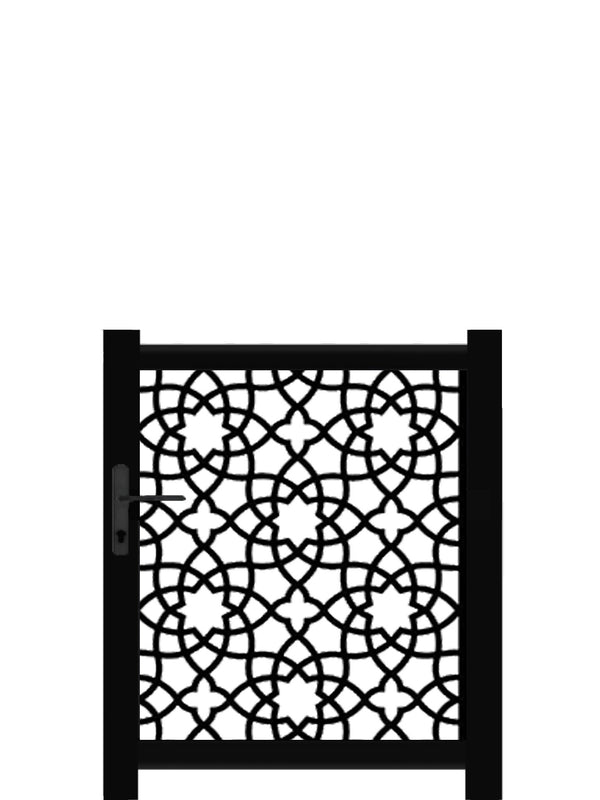 Alhambra Screen Gate - Dove Grey - 6ft