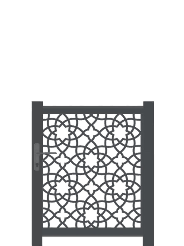 Alhambra Screen Gate - Cream - 6ft