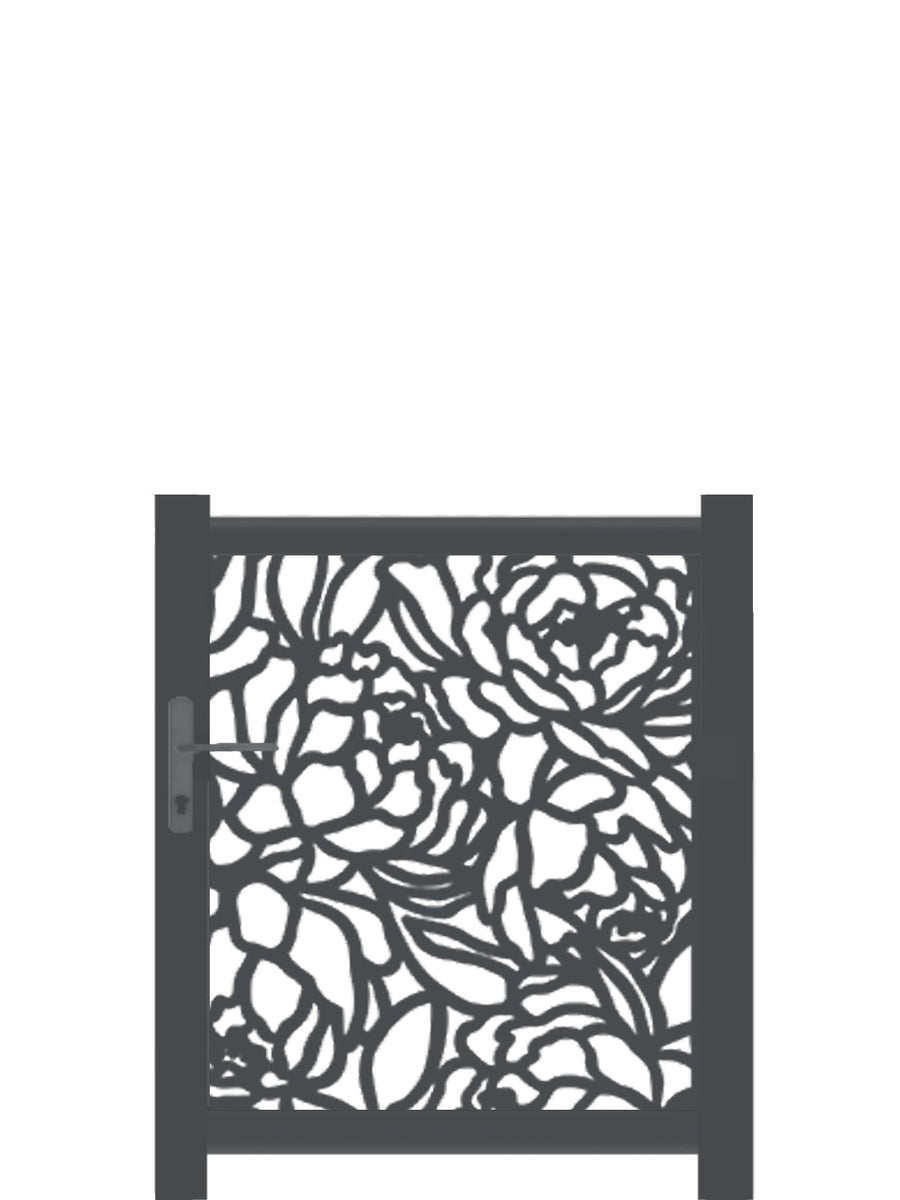 Bloom Screen Gate - Dove Grey - Tall