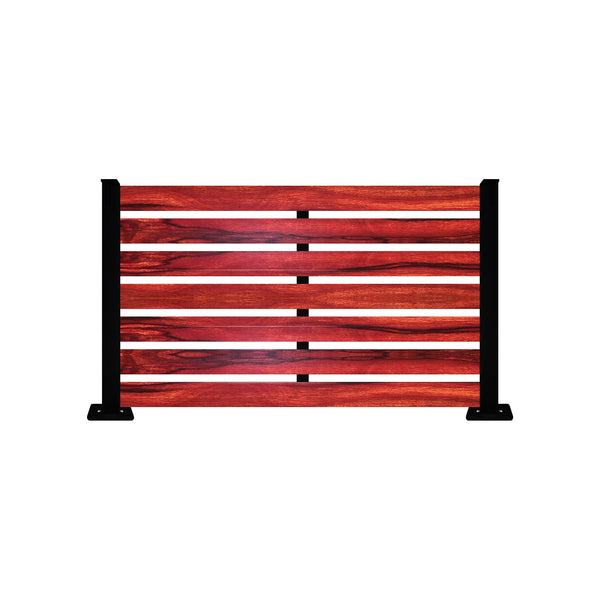 Jarrah Aluminum Fence - 6ft