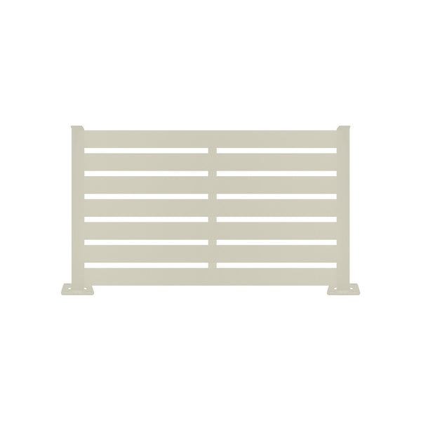 Jarrah Aluminum Fence - 3ft