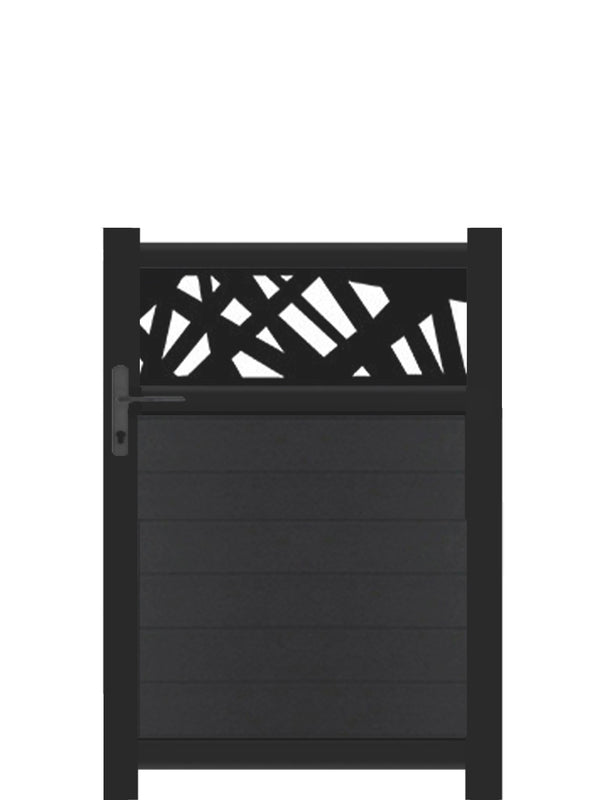 Kerplunk Trellis Pedestrian Gate - Anthracite - 3ft height