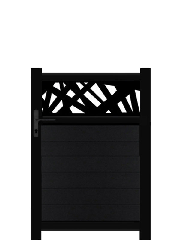 Kerplunk Trellis Pedestrian Gate - Anthracite - 4ft height