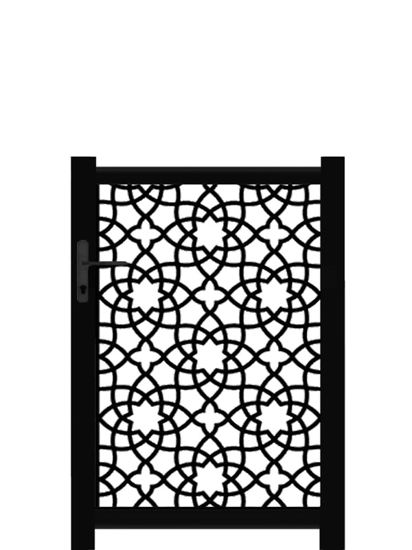 Alhambra Screen Gate - Black - 4ft height