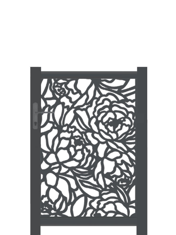 Bloom Screen Gate - Cream - Tall