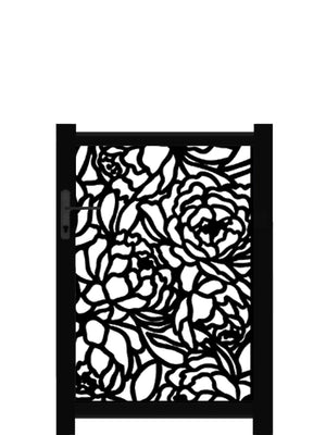 Bloom Screen Gate - Cream - 4ft height