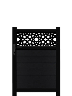 Alhambra Trellis Pedestrian Gate - Anthracite - 3ft height