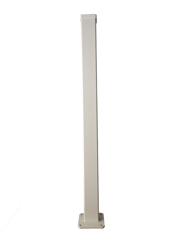 4ft High Post - Cream