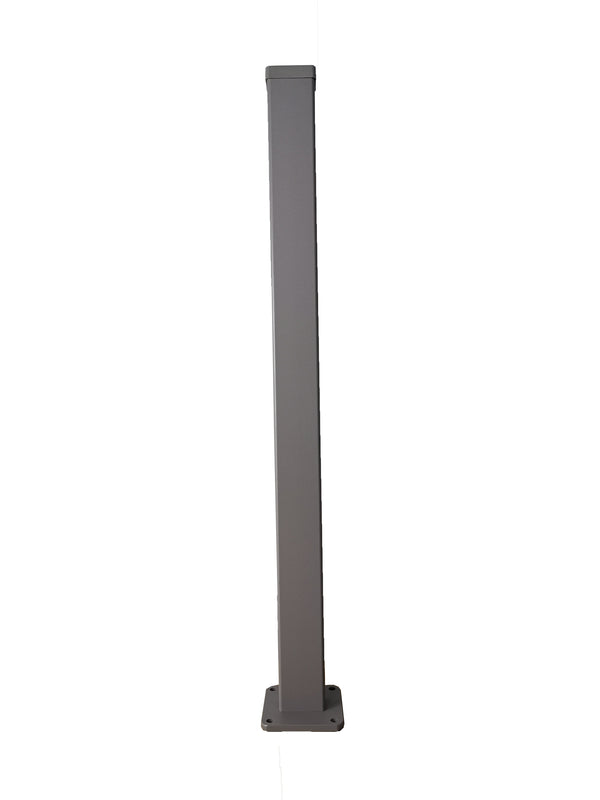 4ft High Post - Dove Grey
