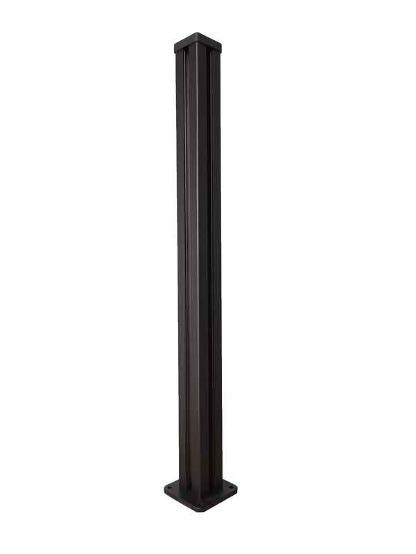 4ft Corner Post - Black