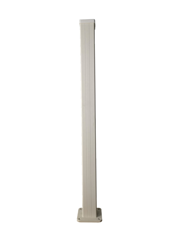 Half height corner post - Cream