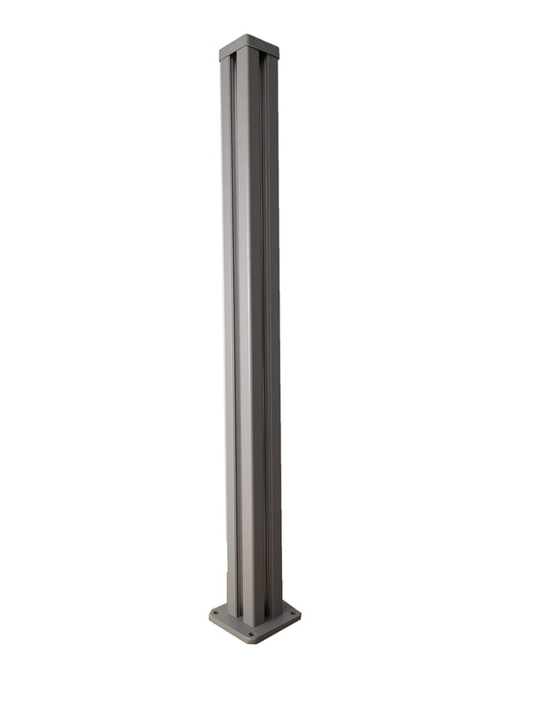 Extra Tall 7ft corner post - Dove Grey