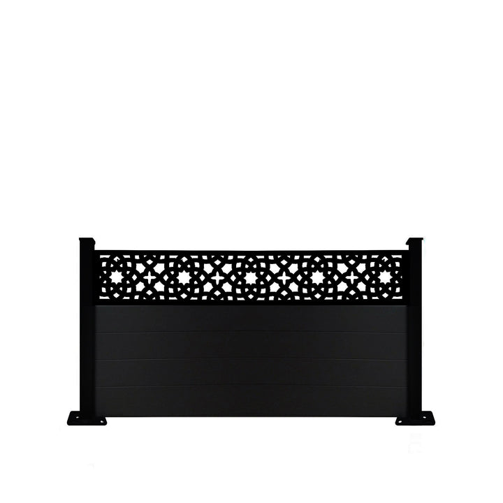Alhambra Fence - Black - 3ft