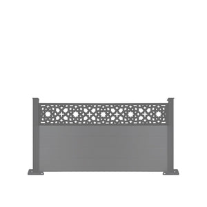 Alhambra Fence - Black - 6ft