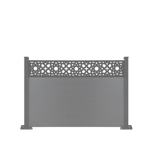 Alhambra Fence - Dove Grey - 7ft