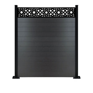 Alhambra Fence - Black - 4ft