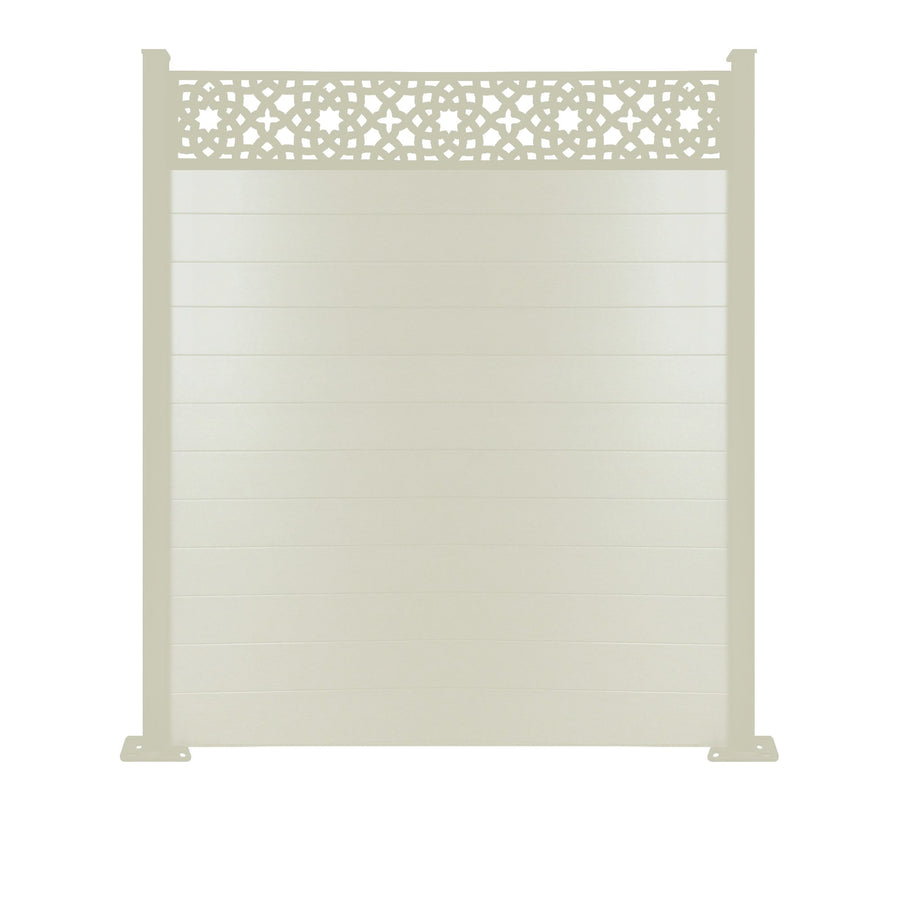 Alhambra Fence - Cream - 3ft