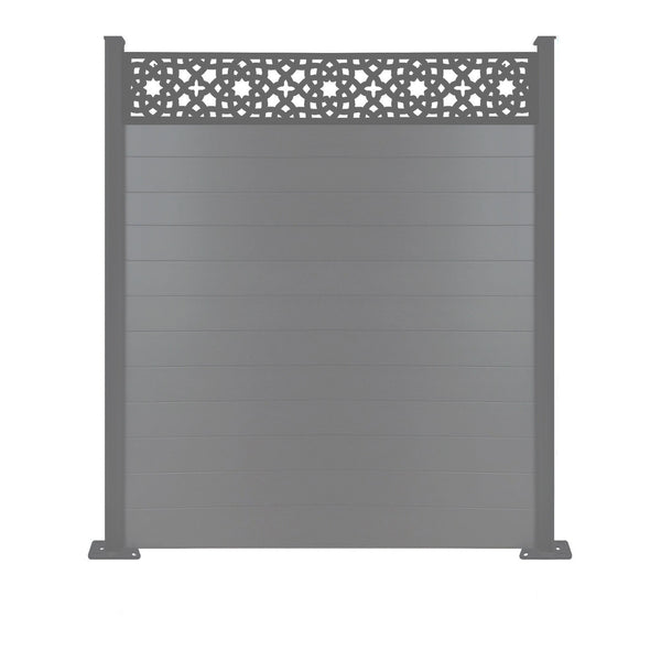 Alhambra Fence - Anthracite Grey - 3ft Tall