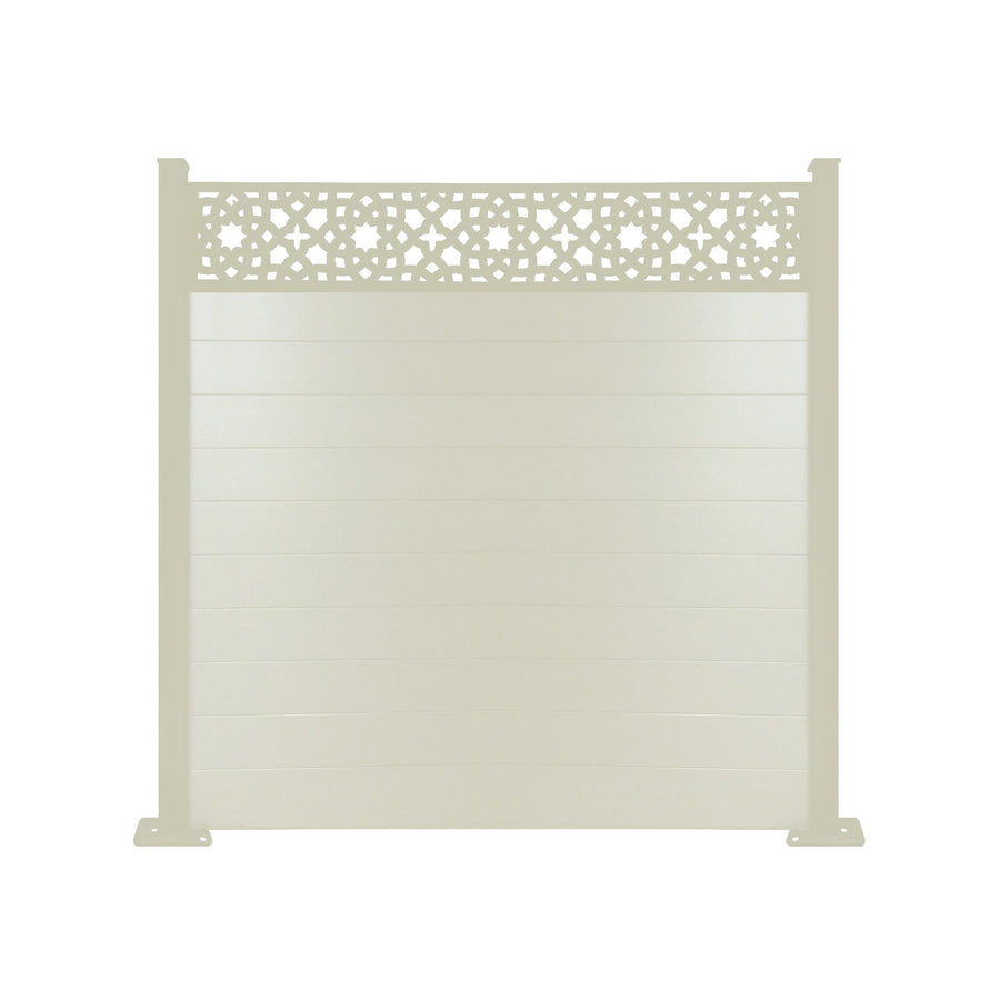 Alhambra Fence - Cream - 7ft
