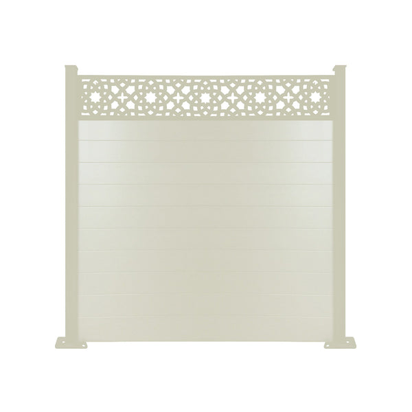Alhambra Fence - Cream - 4ft