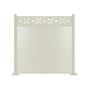 Alhambra Fence - Cream - 6ft