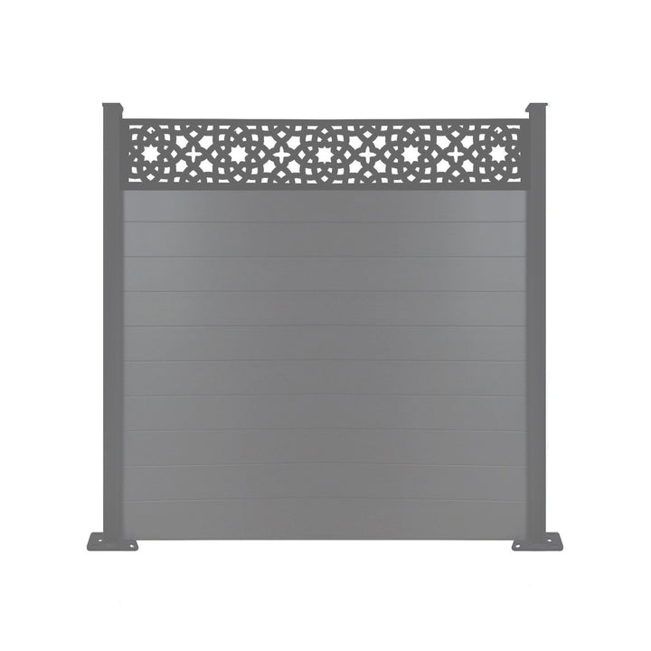 Alhambra Fence - Dove Grey - 6ft