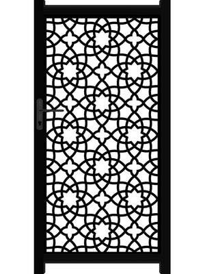 Alhambra Screen Gate - Black - Tall