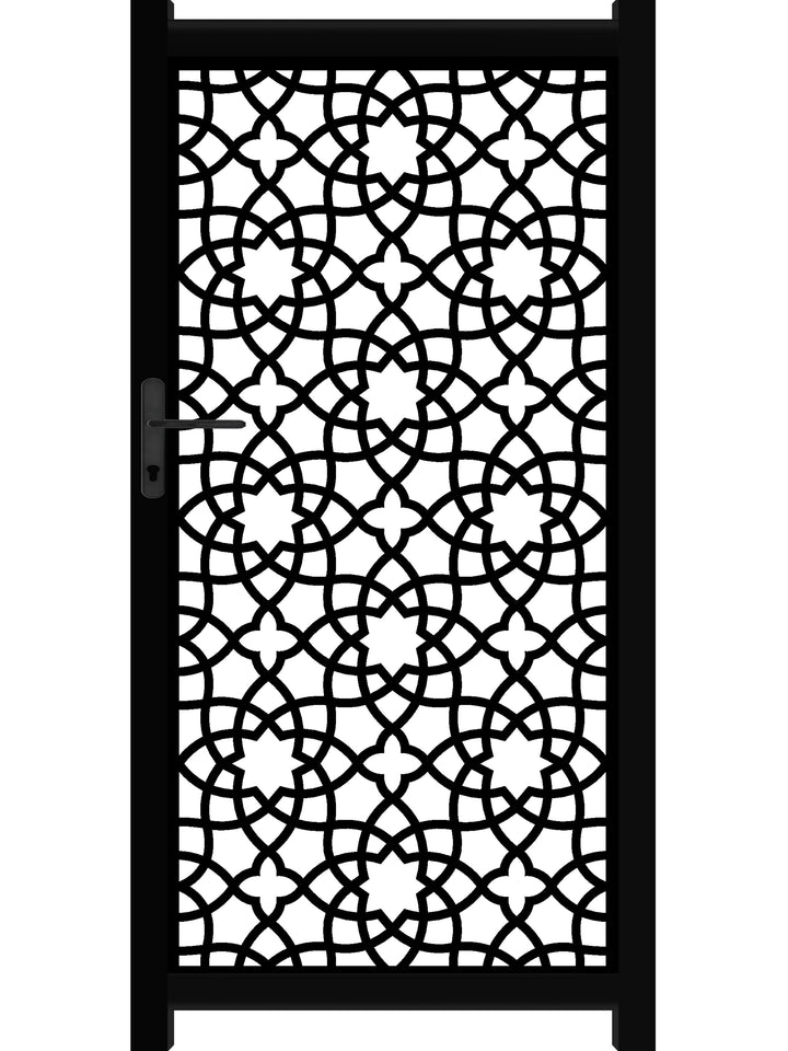 Alhambra Screen Gate - Black
