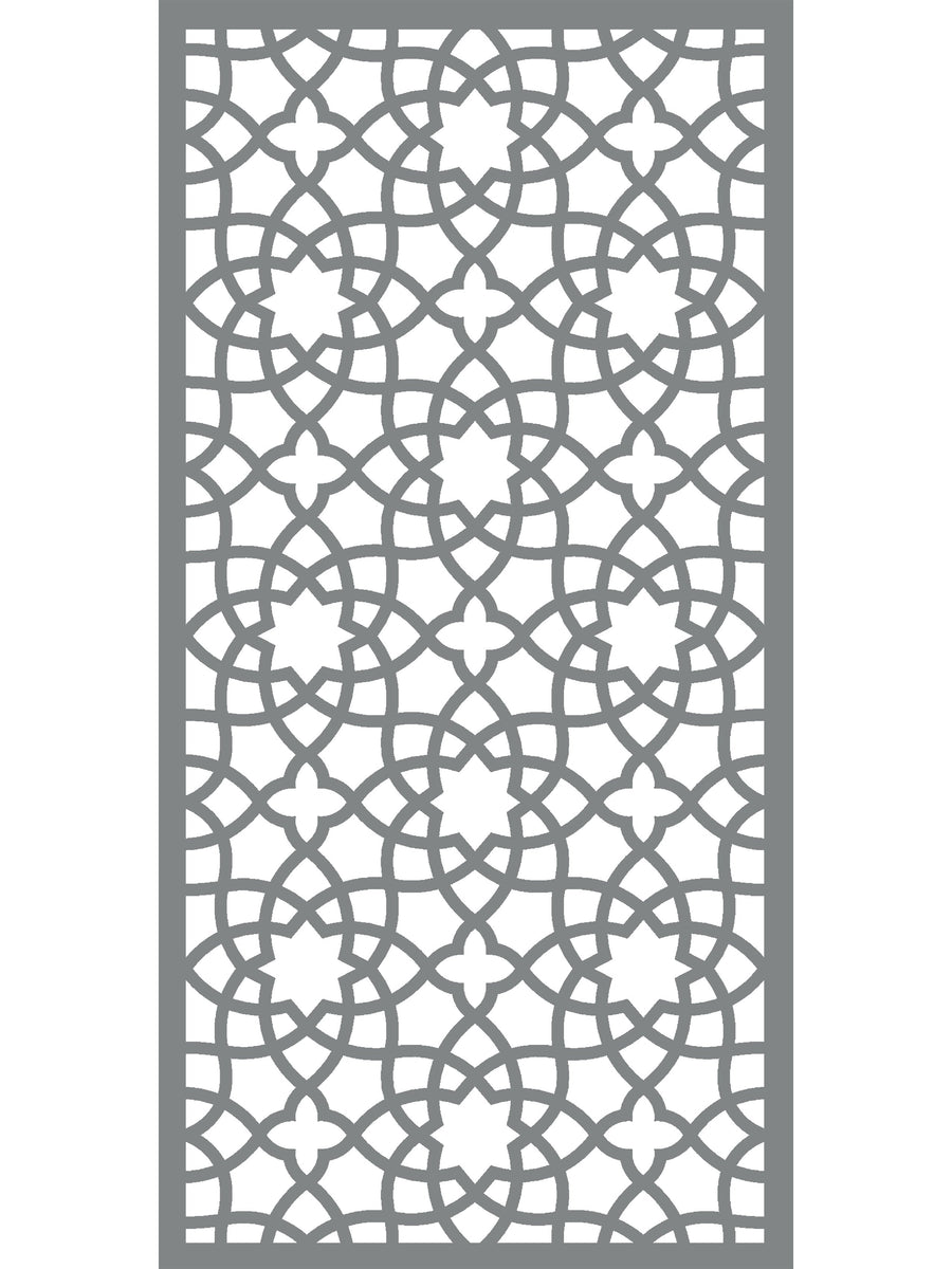 Alhambra Large Garden Screen 6ft x 3ft