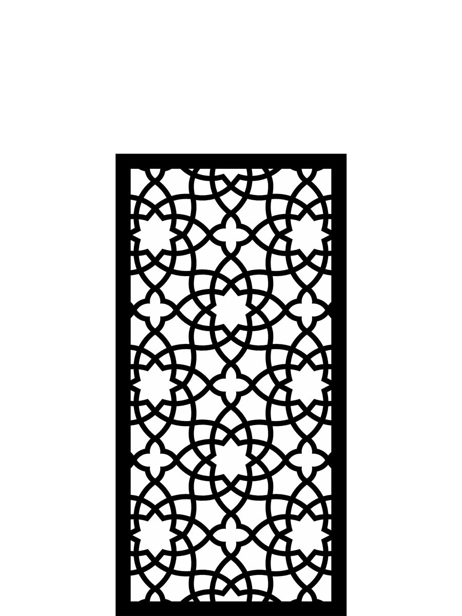 alhambra medium garden screen 4ft x 2ft by screen with. Black Bedroom Furniture Sets. Home Design Ideas