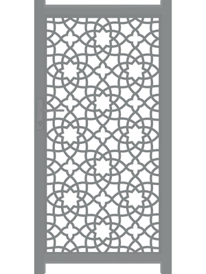 Alhambra Screen Gate - Dove Grey