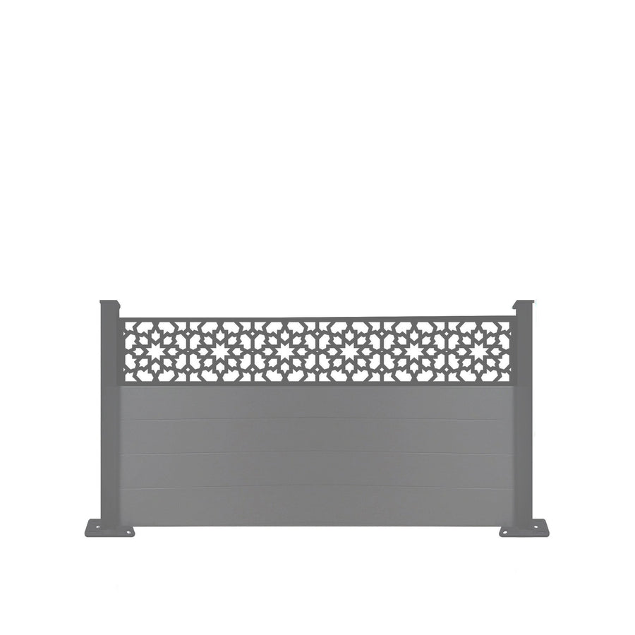 Corolla Fence - Dove Grey - 7ft