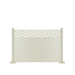 Corolla Fence - Cream - 7ft