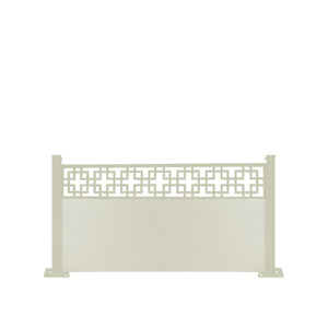 Cubed fence - Cream - 3ft