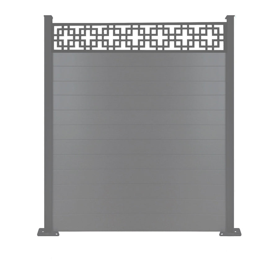 Cubed fence - Anthracite Grey - 7ft