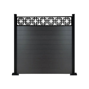 Cubed fence - Black - 4ft